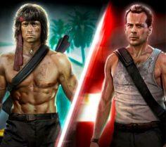 Rambo e John McClane in Call of Duty