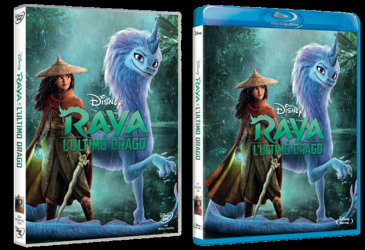 Raya e l'Ultimo Drago in home-video