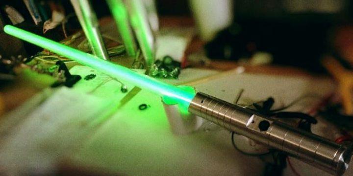 Dov'è la mia spada laser?!