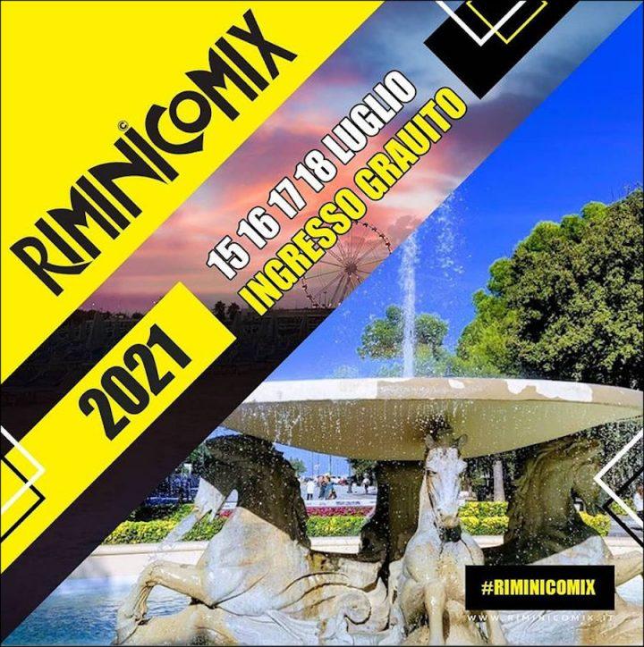 RiminiComix dal 15 al 18 Luglio 2021