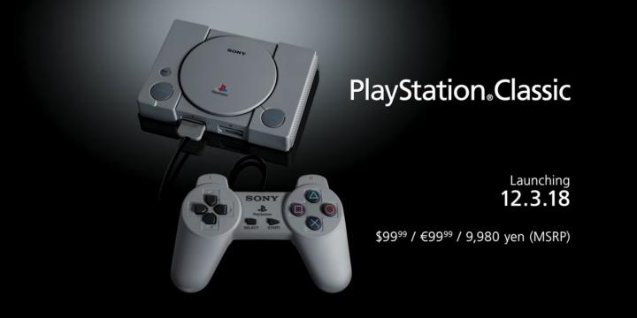 PlayStation Classic: ritorno al futuro