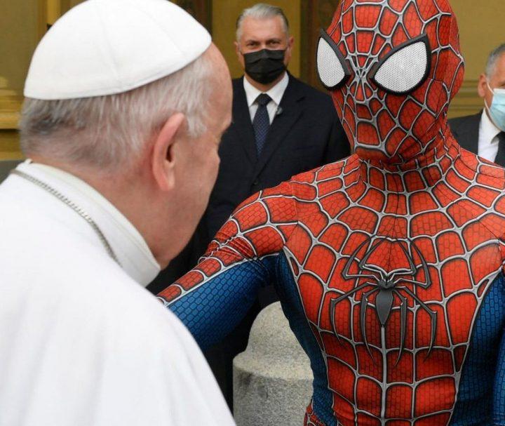 Quando Spiderman andò dal Papa