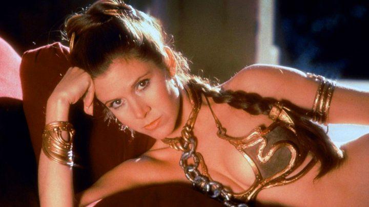 Celebrità che hanno indossato i panni della Principessa Leia