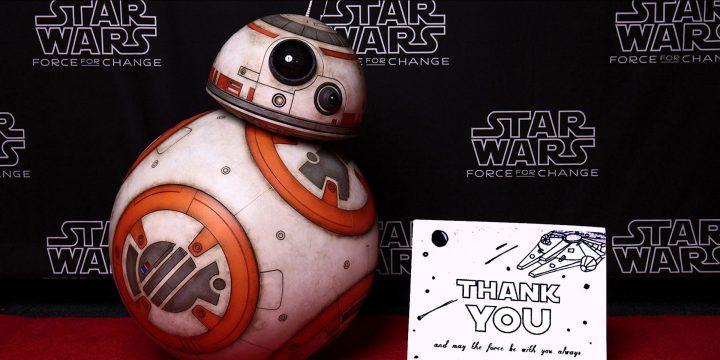 Star Wars Day 2020: Beneficenza Stellare