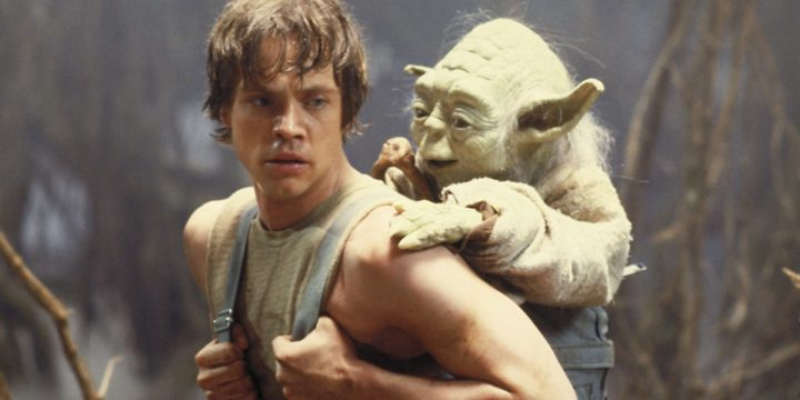 La commozione di Hamill di fronte a Yoda
