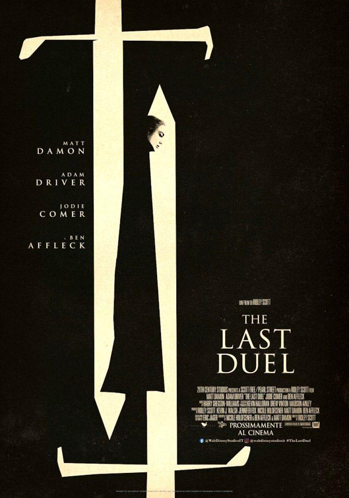 The Last Duel. Il trailer italiano e il poster del film diretto da Ridley Scott