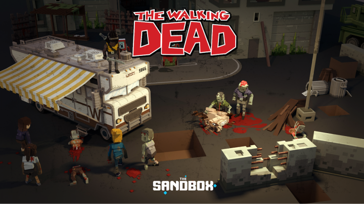 The SandBox – The Walking Dead invade il Metaverse