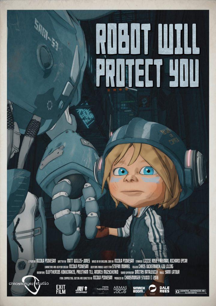 Robot Will Protect You: film d'animazione indipendente