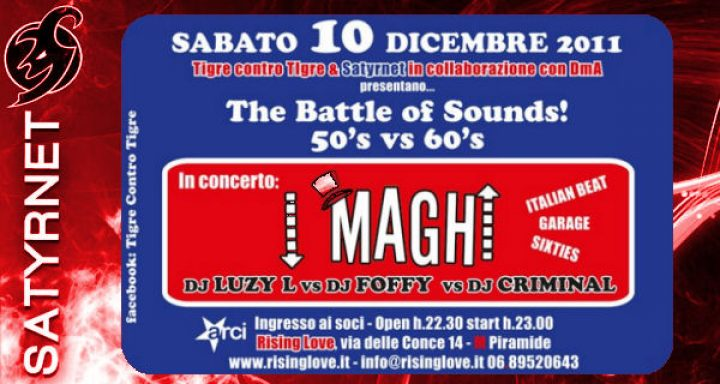 """The Battle of The Sounds """"'50 vs '60"""""""