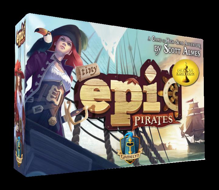 Lo Chef Ludico presenta Tiny Epic Pirates