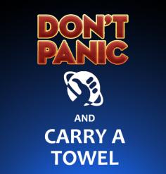 Towel Day – Il giorno dell'asciugamano!